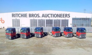 TTS QTY of 6 2010  2009 MERCEDES-BENZ ACTROS 1844 4X2