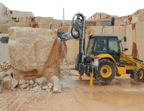 Terna nh construction b100c pi dura del marmo macchine - Como cortar marmol encimera ...