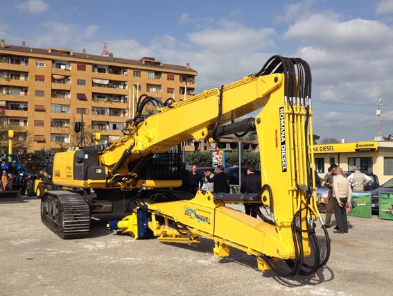 Un new holland per romana diesel macchine edili news for Romana diesel trattori usati