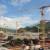 Gru Potain per una diga in Laos