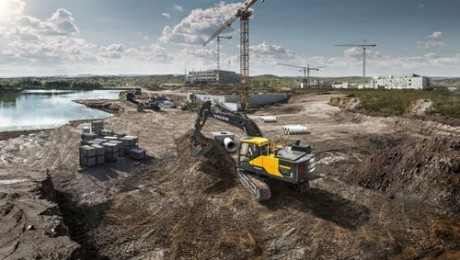 Volvo CE all'Intermat fa l'en plein