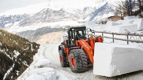Consumi efficienti per Lasa Marmo con la ZW 550-5