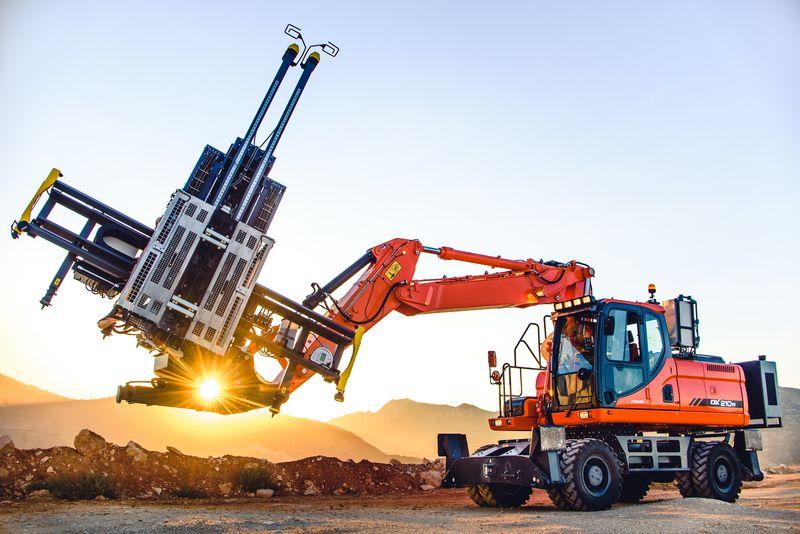 Atlas copco un nuovo carro di perforazione macchine for Costo del garage di una macchina