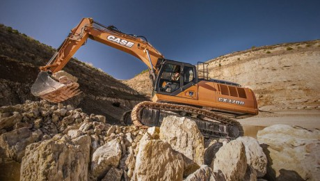 Case: Top Crawler Excavator