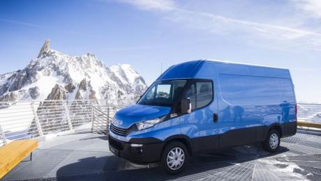 Il Nuovo Daily sfida il Monte Bianco
