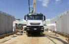 Pompa nuova su camion usato