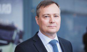 Carl Slotte: nomina in Volvo CE