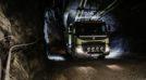 Test in miniera per il Volvo FMX