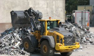 L110H di Volvo CE per riciclare