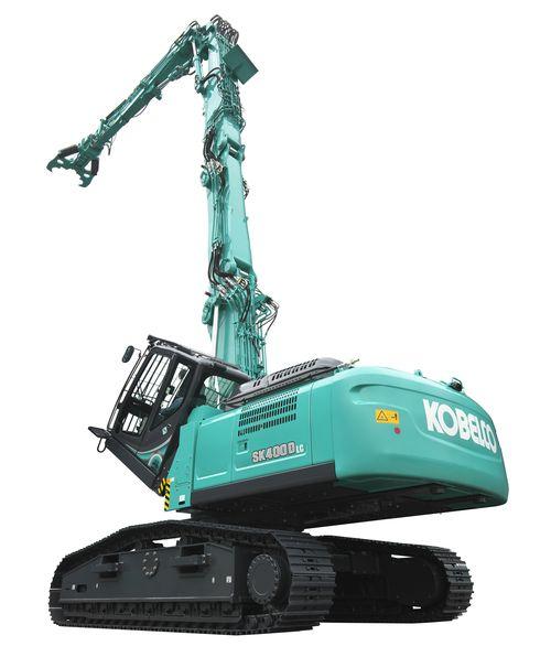 L'SK400DLC-10 di Kobelco