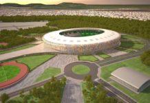 Rendering del nuovo stadio di Yaoundè