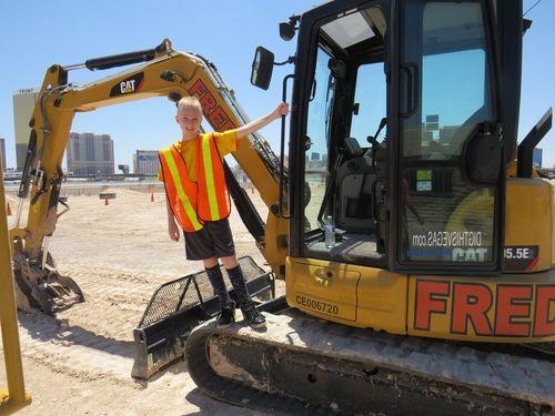 Anche i ragazzini a Dig This di Las Vegas