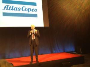 Herman Matthyssen, Vice Presidente Marketing di Atlas Copco Road Construction Equipment