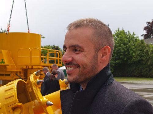 L'ing. Matteo Canepa, Direttore Commerciale Bauer Macchine Italia
