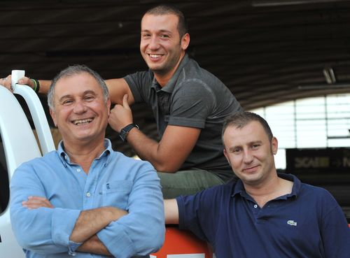 Widmer Ricci, titolare di WR57 con i figli Filippo e Alberto