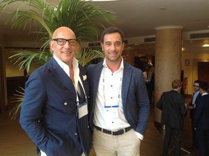Ivano (a sinistra) e Carlo Buso