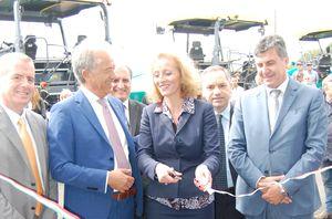 Luigi Gentile, secondo da sinistra