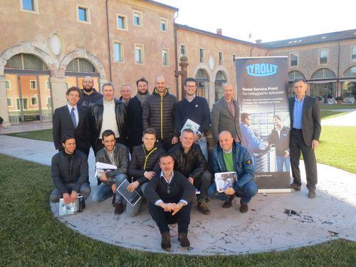 I partecipanti al meeting
