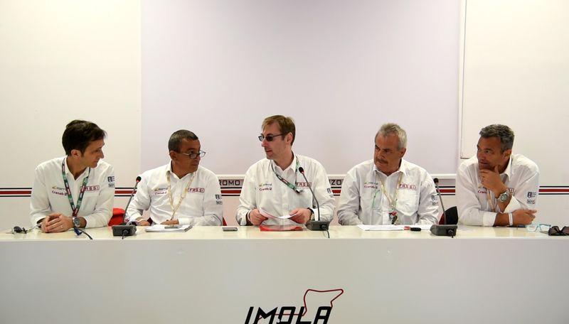 Da sx, Silvio Chiapusso, Roberto Bini, Giovanni Fassi, Oscar Marchi e Mauro Dellacasa