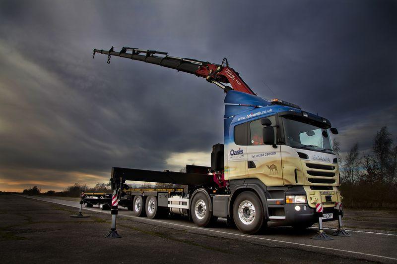 Fassi crane F820