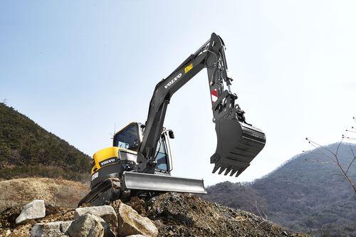 Anche gli escavatori protagonisti dei risultati di Volvo CE