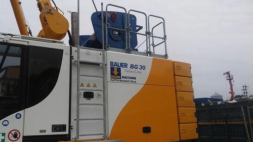 Una macchina Bauer della flotta noleggio