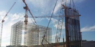 Il cantiere del progetto Nador