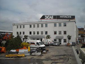 La filiale SCAI di Assago che ha fornito lo ZX 19U-5