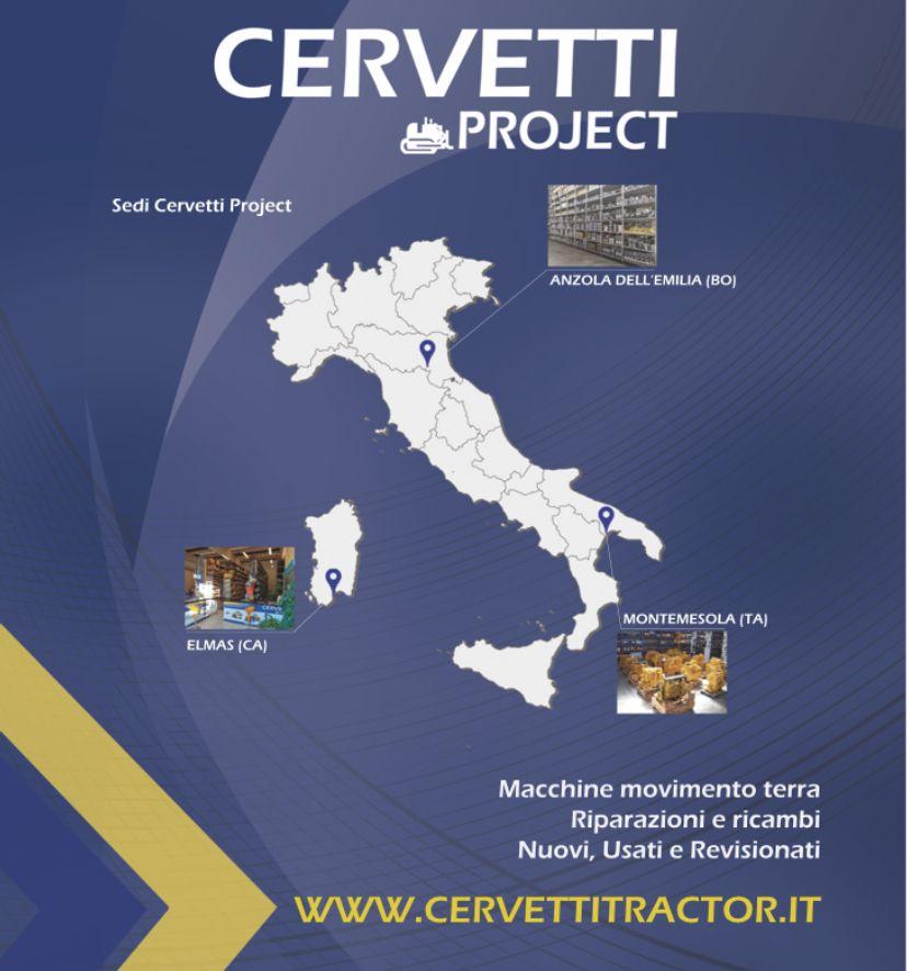 Le sedi di Cervetti project