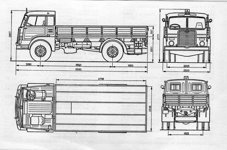 Fiat 682 truck vintage i nonni iveco Fiat-682-n-1952-figurini